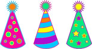 Party Hat Coloring Page Plain