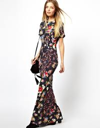 long sleeve maxi dress with split the beautiful of maxi dresses