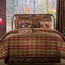 Montana Morning Comforter Set Chocolate