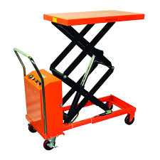 Bolton Tools Hydraulic Hand Electric Table Truck | 770 Lb | ETF35