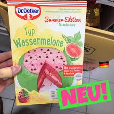 dr oetker backmischung summer edition typ wassermelone