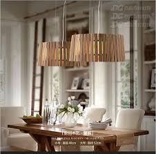 Aliexpress Buy Europe Style Pop Art Solid Wooden Dining Room Chandeliers Round Wood Coffee Shop Decoration Light D400 520MM Free Shipping From