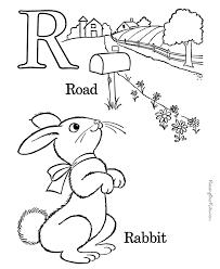 Printable Alphabet Sheet To Color