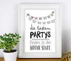 print die besten partys in der küche beispiel partys