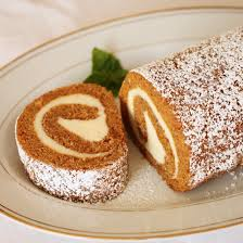 Libbys Pumpkin Roll Recipe by Pumpkin Roll Cake With Cream Cheese Filling