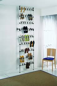 Simms Modern Shoe Cabinet Assorted Colors by Ruco Floor To Ceiling Shoe Rack 54 Pairs German Engineered And