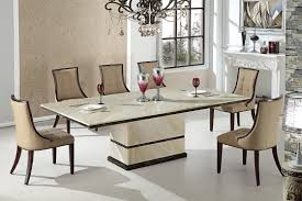 Interior Designs Elegant Formal Dining Room Using Rectangular Inexpensive Cream Sets
