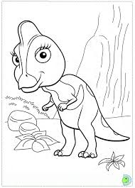 Dinosaur Train Coloring Pages Page