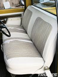 Custom Truck Seat Covers Chevy - Shareoffer.co | Shareoffer.co Bench Chevy Truck Seat Soappculture Com Fantastic Photos Upholstery Outdoor Fniture Buffalo Hide Car Summer Leather Cushion Reupholstering The Youtube How To Recover Refinish Repair A Ford Mustang Amazoncom A25 Toyota Pickup Front Solid Charcoal 1956 Reupholstered Part 1 Kit Replacement For And Seats Carpet Headliners Door Panels To Clean Suede It Still Runs Your Ultimate Older Auto Interior Customizing Shops Best Accsories Home 2017 01966 Chevroletgmc Standard Cab U104