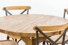 Oslo Dining Table Round Teak