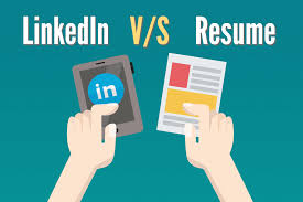 LinkedIn Profile Vs. Resume- 8 Differences You Should Keep ... Convert Your Linkedin Profile To A Beautiful Resume Nanny Resume Sample Monstercom How Optimize Profile Complement Your Laura Smithproulx Executive Write Great Data Science Dataquest Make Stand Out 12 Steps Lkedin Icon 1967 Free Icons Library Vs 8 Differences You Should Keep Print As The Chrome Do I Addsource Candidates Lever From Using Marissa Mayers Has Gone Viral Again But Is It All
