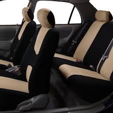 100 Truck Seat Covers BESTFH Beige Black Car For Sedan SUV Van Car
