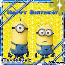 happy birthday minions 4