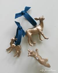 Donner And Blitzen Christmas Tree Instructions by 25 Beautiful Diy Christmas Ornaments