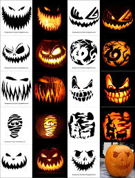 Scariest Pumpkin Carving Ideas by 220 Free Printable Halloween Pumpkin Carving Stencils Patterns