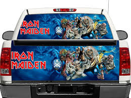 100 Rear Truck Window Decals Iron Maiden OR Tailgate Decal Sticker Pickup SUV