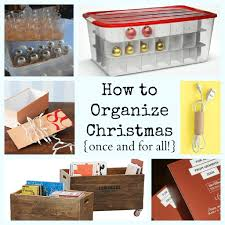 Christmas Tree Storage Bin Target by Christmas Storage U0026 Organization Ideas Making Lemonade