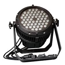 54x3W Waterproof LED PAR Can Light RGBW Outdoor IP65 for sale