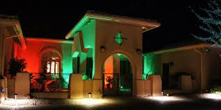 led exterior wall wash lighting mediterranean exterior st