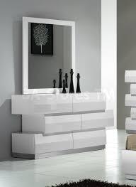 6 Drawer Dresser Black by White Bedroom Dresser Glitzy 4 Pc White Mirrored Queen Bed Ns