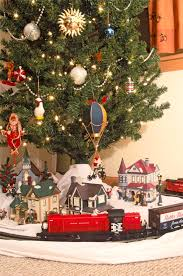 Model Railroader Magazine Shows A Train Under Christmas Tree Memories Are What Often Bring Out Trains This Time Of The Year