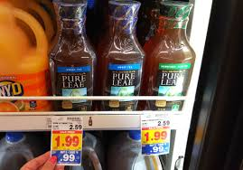 Kroger Christmas Tree Stand by Pure Leaf Tea U0026 Minute Maid Lemonade Only 0 32 At Kroger With