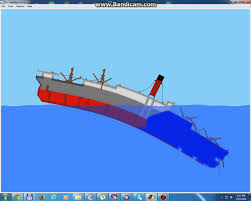 sinking simulator carpathia sinks like the titanic youtube