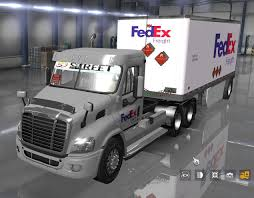 100 Day Cab Trucks For Sale Fedex Official 28 Pup Trailer With Freightliner