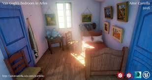 ArtStation Van Gogh s Bedroom in Arles Aitor Castella