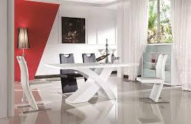 esszimmertisch nolana 140 200 90 cm ausziehbar hochglanz weiß