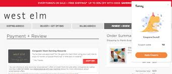 Do You Use Honey (the Automatic Coupon Code Finder)? - Far Out City West Elm Free Shipping Promo Code September 2018 Discounts 10 Off West Coupon Drugstore 15 Off Elm Promo Codes Vouchers Verified August 2019 Active Zaxbys Coupons 20 Your Entire Purchase Slickdealsnet Brooklyn Kitchen City Sights New York Promotional 49 Kansas City Star Newspaper Coupons How To Get The Best Black Friday And Cyber Monday Deals Pier One Table Lamps Beautiful Outside Accent Tables New Coffee Fabfitfun Sale Free 125 Value Tarte Cosmetics Bundle Hello Applying Promotions On Ecommerce Websites