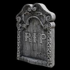Halloween Graveyard Fence by Fake Halloween Tombstones Headstones Grave Markers Stones Fences