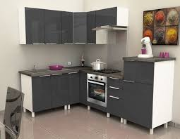 meuble bas d angle cuisine meuble haut d angle cuisine 2 caisson angle bas 80 cm gris