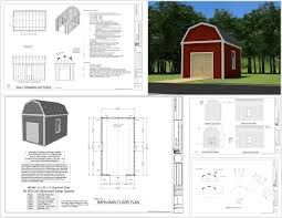 Gambrel Shed Plans 16x20 by 100 Gambrel Garage Plans 100 Garage Plans With Apartments