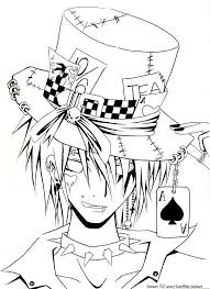 Creepy Magician Coloring Pages Printable