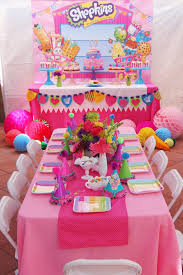 Party Setup From A Shopkins Birthday Via Karas Ideas