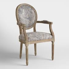 Double Papasan Chair World Market by Ogee Paisley Paige Round Back Dining Chairs Set Of 2 World Market