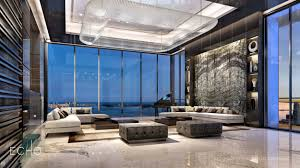 100 Penthouse Design ECHO Brickell Carlos Ott Living Room Architecture In