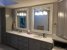Diy Bathroom Vanity Tower by Vanity Cabinet Gallery Kc Wood