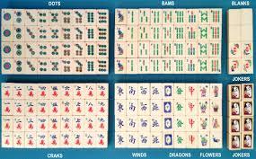 mystery mah jongg tiles