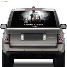 100 Back Window Decals For Trucks American Captain Graphics Car Rear Window Decal Stickermiki