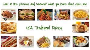 cuisine usa esol conversational topics topic 2 food and traditional di