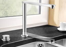 robinet cuisine escamotable mitigeur à bec escamotable et orientable blancoeloscope f ii