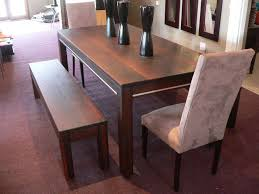 The Best Dining Room Table With Bench For Charming Night