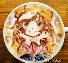 A Highly Talented Individual BELCORNO Makes Some Incredibly Impressive Latte Art Most Of Which Related To Anime And Manga Ill Post Few Examples Below
