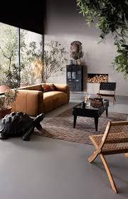 kare design couchtisch collector schwarz schwarzer tisch für das wohnzimmer im industrial stil tischplatte aus glas h b t 45 122 45