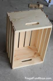 How To Make A Wooden Toy Box by Diy Wooden Crate Storage And Display For Wheels Cars