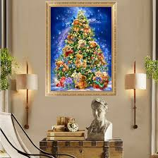 Thomas Kinkade Christmas Tree Cottage by Compare Prices On Christmas Tree Painting Online Shopping Buy Low