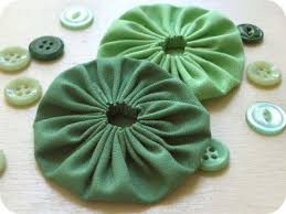 How To Make Fabric Yo Yos Which Can Be Used For Purses And Other Craft