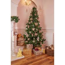 4ft Christmas Tree Uk by Andrew James Easy Build 7ft Luxury Artificial Pine Green Christmas